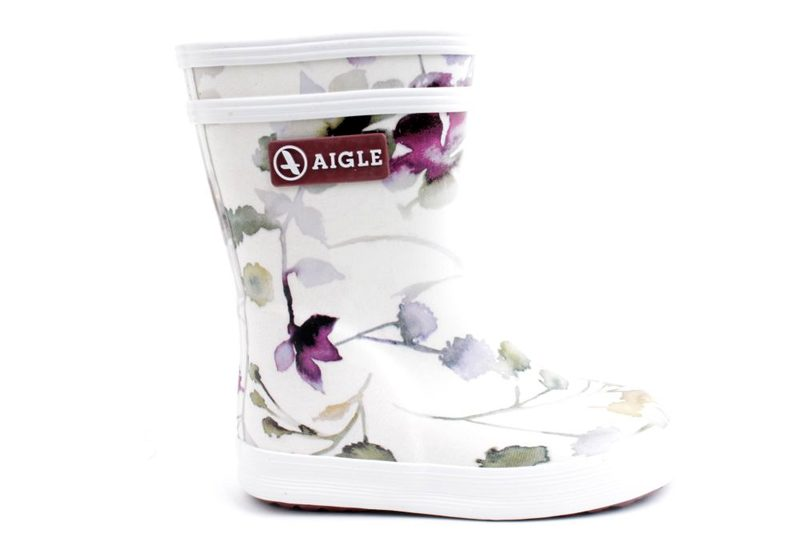 b8bb9d2aeff Køb AIGLE LOLLYPOP WILDFLOWER Her - Salg af Pige gummistøvler