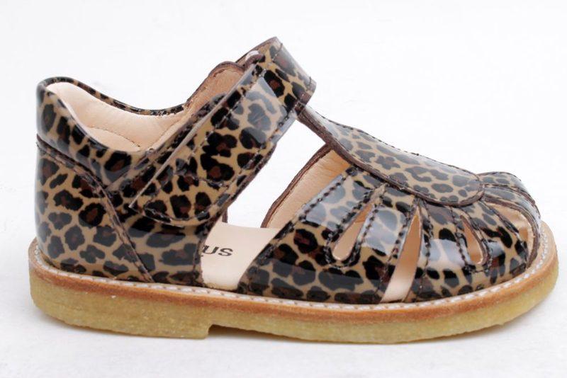 ab0fb4d15fe Top Køb ANGULUS LEOPARD Her - Salg af Pige sandaler SK88