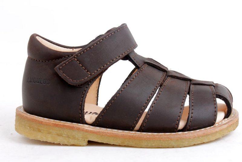 910c5e5e9898 Køb ANGULUS BRUN SANDAL Her - Salg af Drenge sandaler