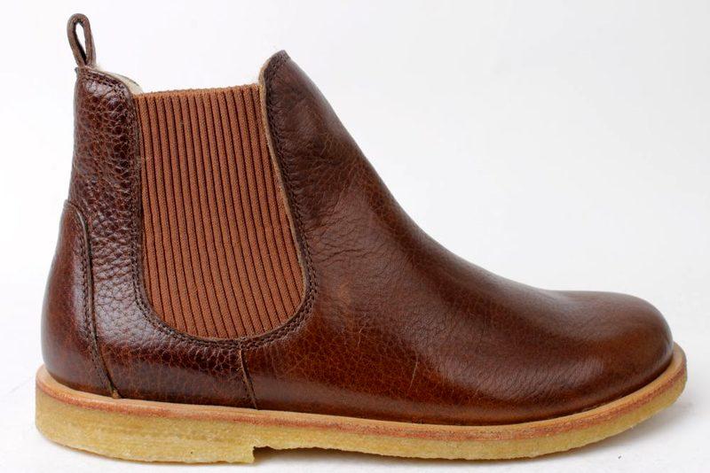 772eaa9c12e Køb ANGULUS CHELSEA BOOT I BRUN Her - Salg af Vinterstøvler til kvinder