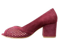 ANGULUS BORDEAUX PUMPS MED PEEP TOE 5493-301