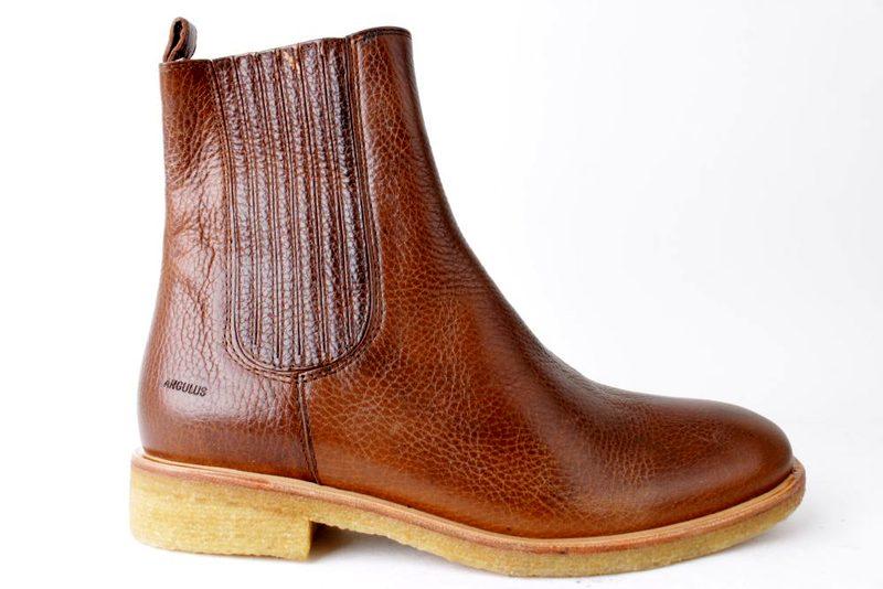 86cf60a0120a Køb ANGULUS BRUN CHELSEA Her - Salg af Støvler til damer
