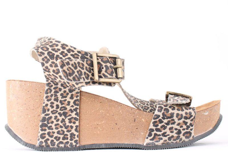ab6d107c7fe6 Køb BELLA MODA LEOPARD SANDAL Her - Salg af Lette sandaler
