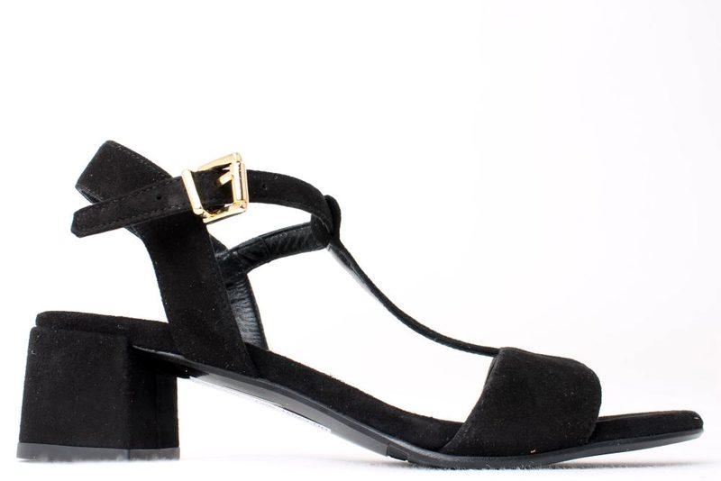 7e819abda2db Køb BILLI BI SORT SANDAL Her - Salg af Lette sandaler
