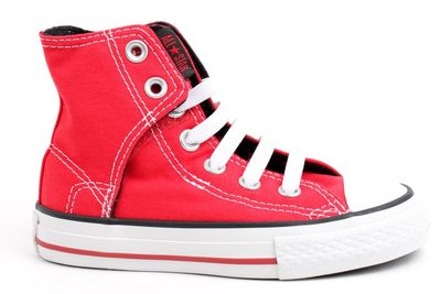 salg af CONVERSE NO TIME TO LACE RØD