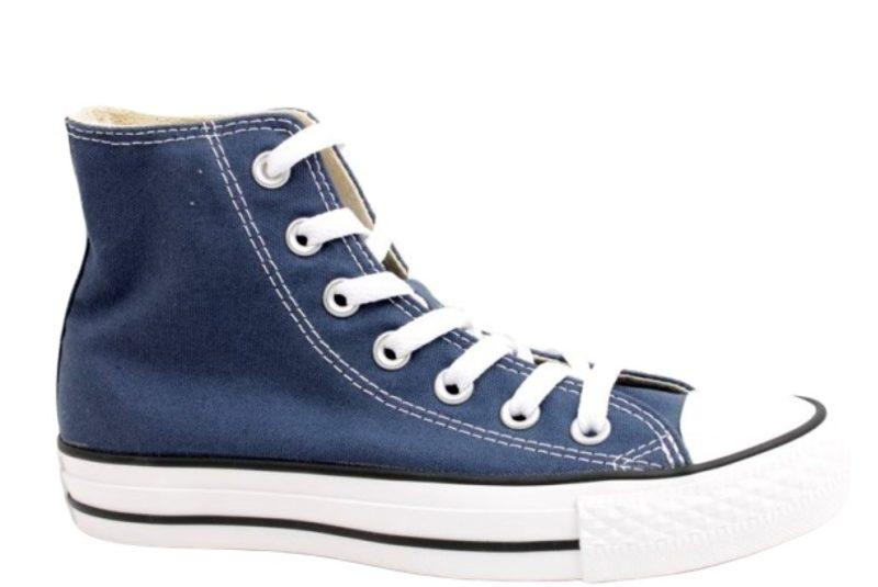converse all star sko blå