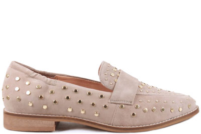 salg af COPENHAGEN SHOES MOLLY TAUPE LOAFERS