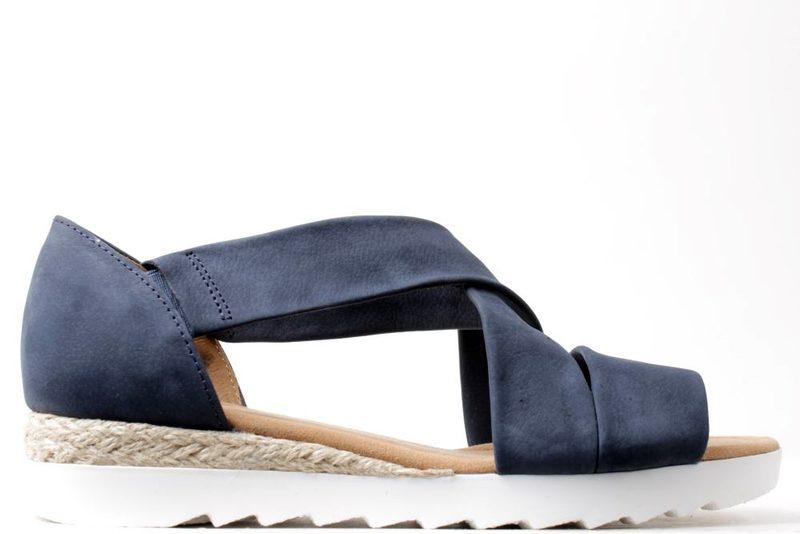 fee00adecfb9 Køb GABOR SANDAL I BLÅ Her - Salg af Lette sandaler