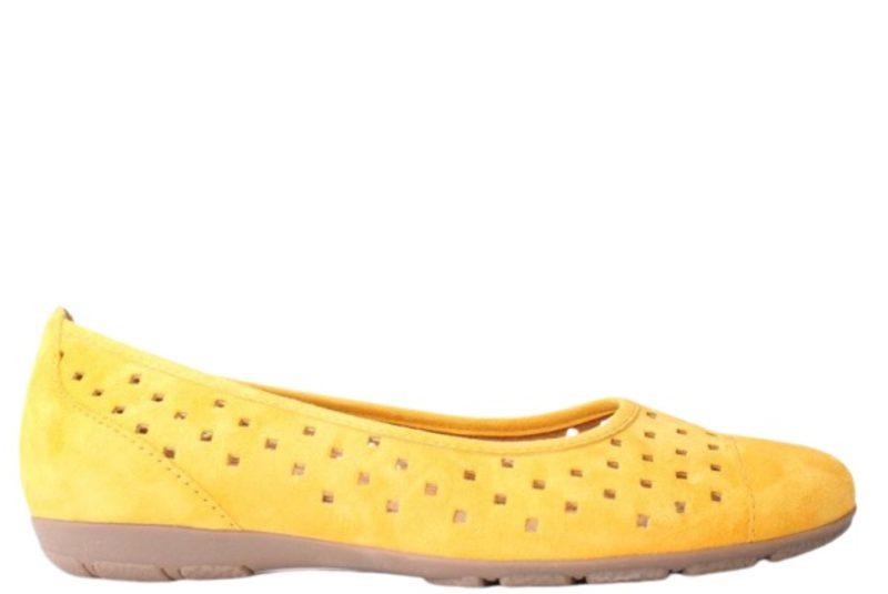 0a048bea Køb GABOR HOVERCRAFT GUL Her - Salg af Ballerina sko