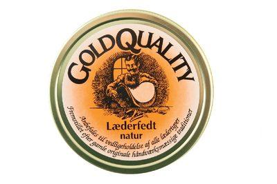 salg af GOLD QUALITY LÆDERFEDT NATUR