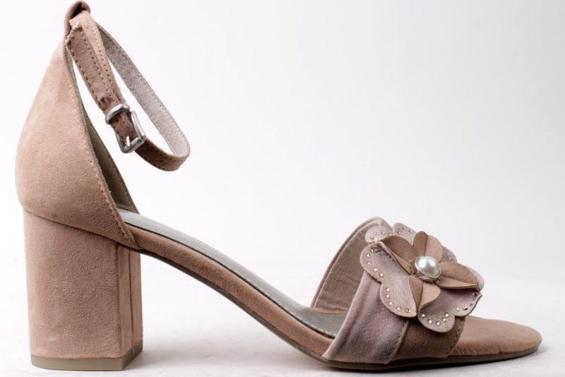 3121dc5251c6 Køb MARCO TOZZI NUDE SANDAL PÅ HÆL Her - Salg af Lette sandaler