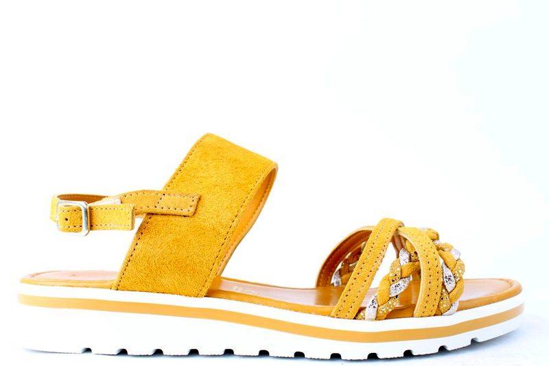 45e35be6 Køb MARCO TOZZI GUL SANDAL Her - Salg af Lette sandaler