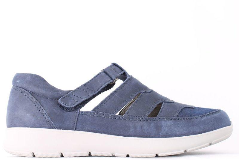 Køb NEW FEET BLÅ SANDAL SKO Her Salg af Sandaler til kvinder