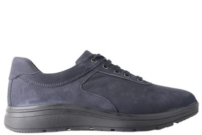 salg af NEW FEET LACED SHOE OLIED LEATHER BLUE