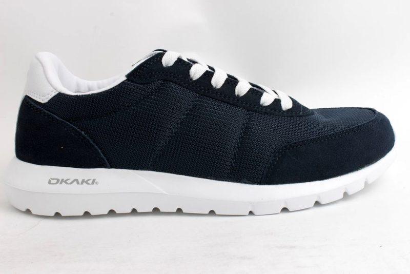 37c8bf3eeddb Køb OKAKI BLÅ SNEAKERS Her - Salg af Sneakers til mænd