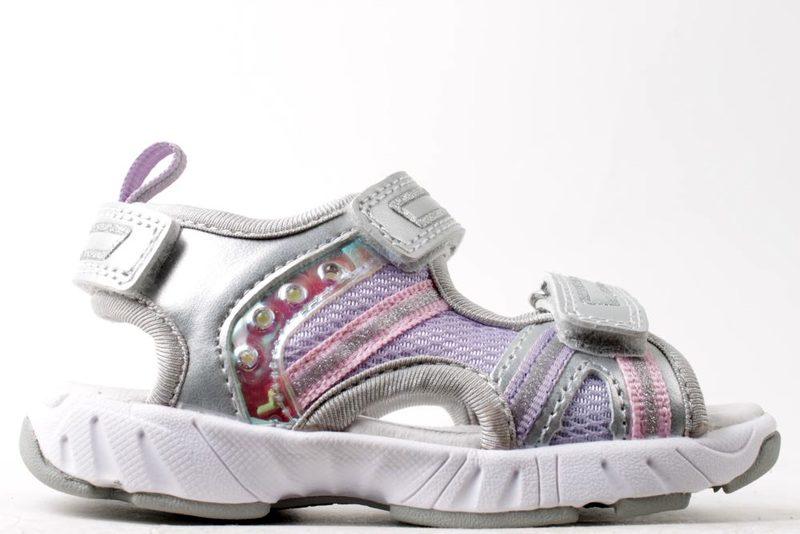 c4312c7e8cb Køb PONNY SØLV SANDAL MED LYS Her - Salg af Pige sandaler