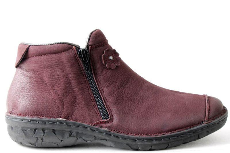 f2e0b438 Køb RELAXSHOE BORDEAUX Her - Salg af Støvler til damer