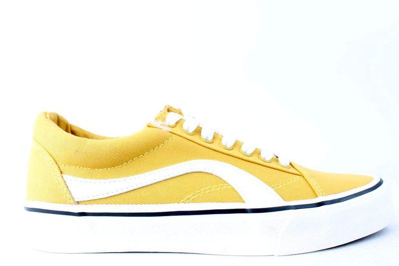 2785dc69 Køb ROOTS GUL LÆRREDSSKO Her - Salg af Sneakers til kvinder