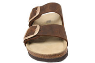 ROOTS SLIPPERS BRUN