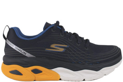 salg af SKECHERS MAX CUSHIONING ULTIMATE NAVY/YELLOW