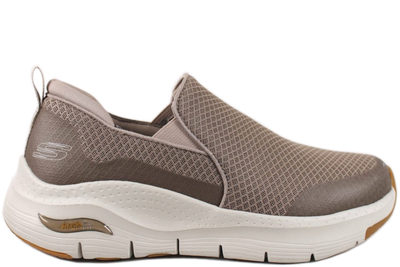 salg af SKECHERS ARCH FIT BANLIN TAUPE SNEAKERS