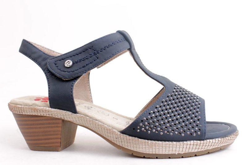 7630dc4c932d Køb SOFTWALK SANDAL I BLÅ Her - Salg af Lette sandaler