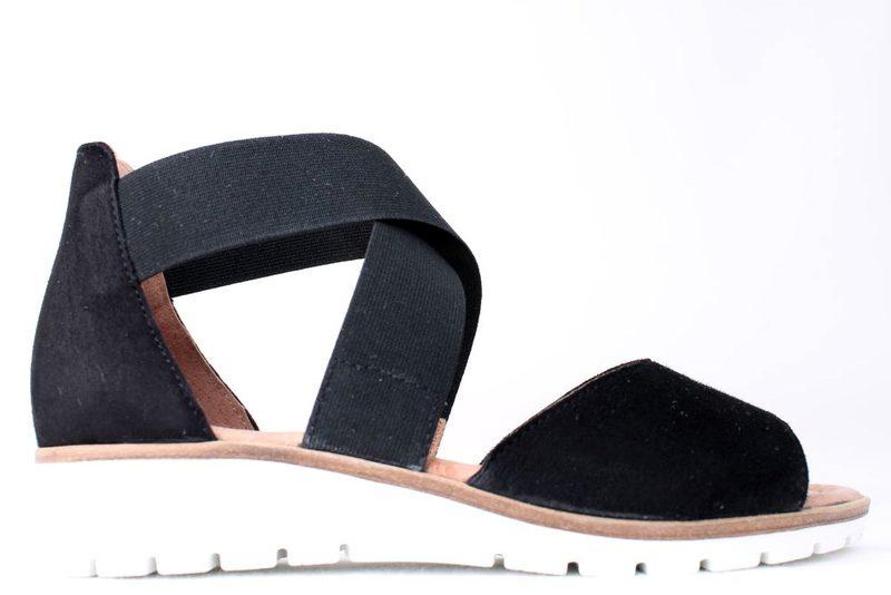 88b9c2eb01bb Køb SOFTWALK SORT SANDAL Her - Salg af Lette sandaler