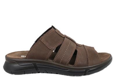 Slippers sandal fra Softwalk i brun skind
