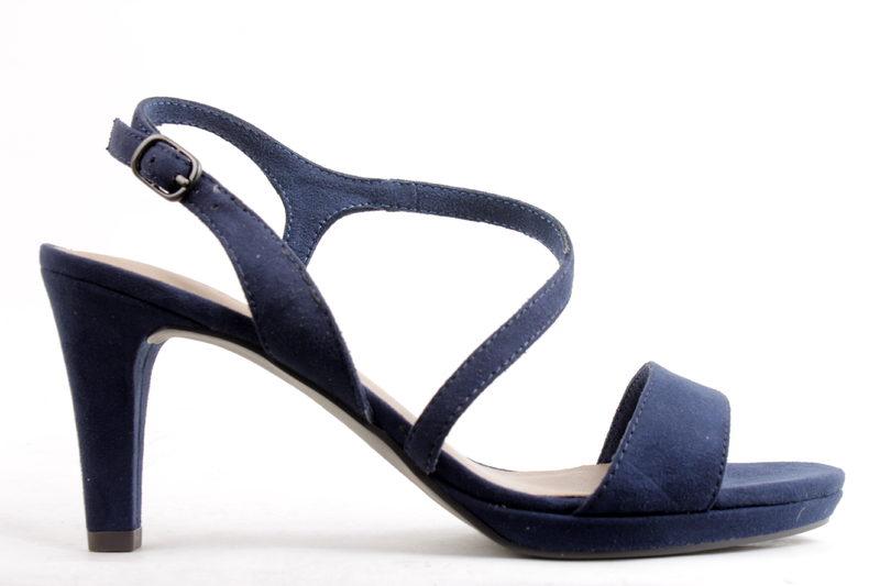 bc8882ef6332 Køb TAMARIS SANDAL MED HÆL I BLÅ Her - Salg af Lette sandaler